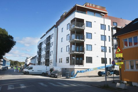 Sentrumshagen i Storgata 88 huser et av Bodøs ferskeste aksjeselskap.