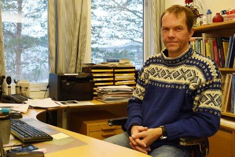 Sagt opp: Jarand Gjestland har ikke trukket tilbake oppsigelsen.
