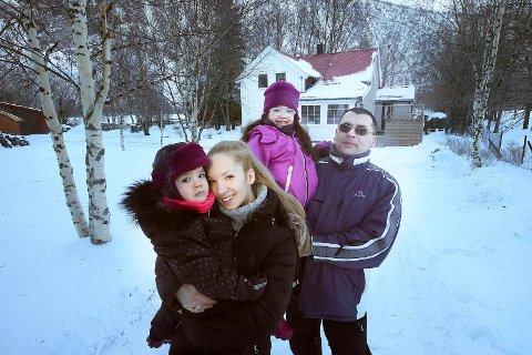 Beiarn:  Tena Matic og mannen Vladimir Matic, med barna Ariel og Vasilisa, bor i Beiarn. Hun jobber på sykehjemmet, han er utdannet ingeniør som sliter med å finne jobb i kommunen.