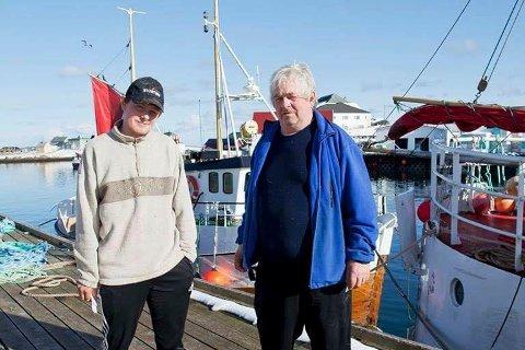 """Håvard Vikedal Pedersen var eier og skipper på """"Stortinn jr."""" Han overlevde, men bestefar Aage Vikedal omkom da båten forliste 6. april 2015."""