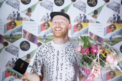Aleksander Johan Andreassen vant i helgen pris under den norske Kortfilmfestivalen i Grimstad. Foto: Pressefoto/Andrea Rocha Photography