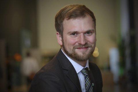 Til Stortinget? Senterpartiets førstekandidat i Nordland, Willfred Nordlund, ligger an til en plass på Stortinget den neste perioden. Partiet fortsetter framgangen. foto: Ragne B. Lysaker, Sp