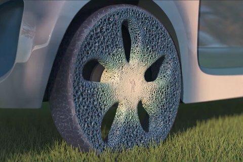 Michelin 'smart tire' concept. (Foto: Michelin)