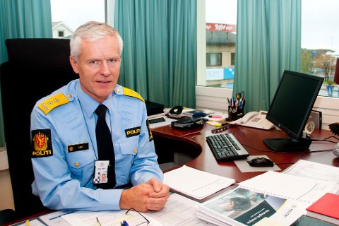 Geir Ove Heir, tidligere politimester i Salten politidistrikt.