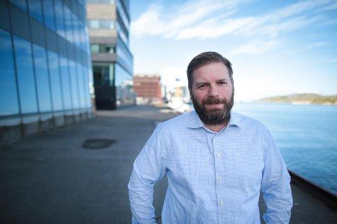 Eivind Undrum Jacobsen, distriktsredaktør i NRK Nordland.