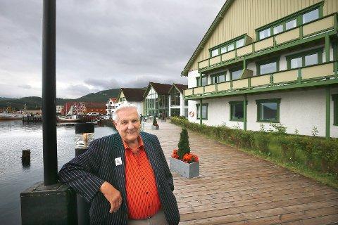 Harald Hartviksen er ferdig som daglig leder ved Rognan hotell.