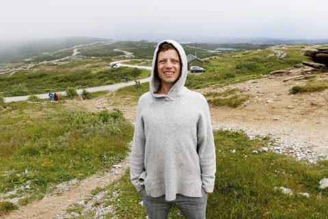 Elsker Bodø-l: Bodøværingene har en helt spesiell måte å si l på. - Jeg liker den.  Foto: Bjørn Erik Olsen