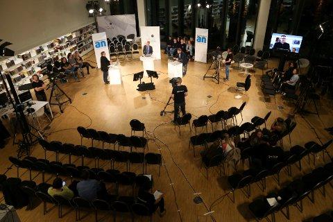 Gjentas: Under fylke- og kommunevalget i 2015, sendte NRK og Avisa Nordland debatt. Nå kommer ni førstekandidater til samme sted for å debattere foran neste ukes stortingsvalg.
