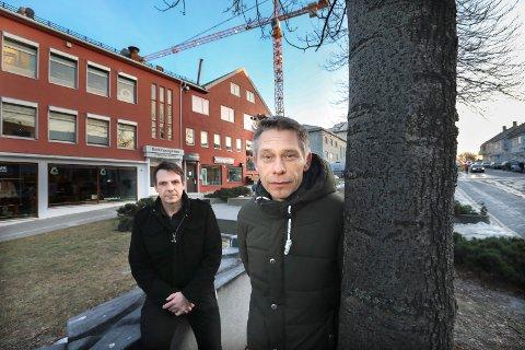 Organiserer «hverdagsheltene»: Joachim Bjørndal og Stig Andreassen er hovedtillitsvalgte i Fagforbundet. Og kaller sine medlemmer i Bodø kommune for hverdagshelter, på grunn av alle de utfordringene de står i hver dag.