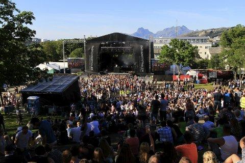 Ny festival: Parken utvider og skal nå lage en egen ungdomsfestival på torsdag før selve festivalen. Den er myntet på ungdom mellom 13–18 år og det er målgruppa selv som skal lage musikkfesten.