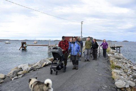 Båtløse: Fra 1. februar blir innbyggerne på Holkestad fri for hurtigbåtanløp. Det innebærer en langt mer tungvint tilværelse for den lille kystbygda der blant annet finnes seks gårdsbruk som er i aktiv drift. Foto: Øyvind A. Olsen