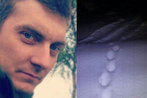 Ørjan Larsos fra Saltdal mener å ha observert gaupespor som kan tilhøre en familie på minst to eller tre dyr.