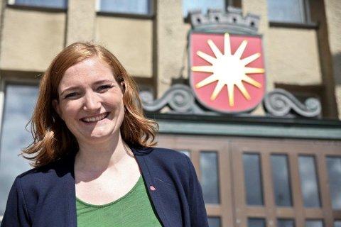 Glad ordfører: Ida Pinnerød trives med ordførerkjedet, og bekrefter at hun tar gjenvalg dersom partiet ønsker henne.