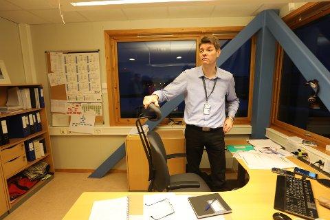 Prosjektleder Odd Inge Bardal i Bypakke Bodø.