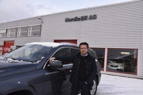 Trond Nicolaysen er daglig leder i Nordic Bil AS