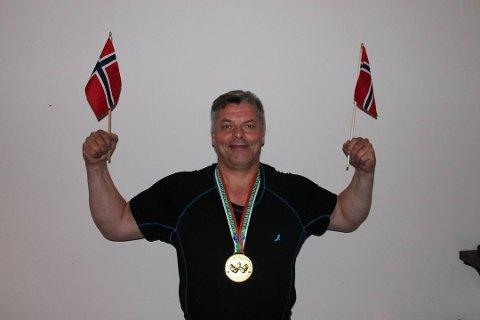 Kurt Kvikstad (52) vant gull i VM i fjor. I år satser han på å ta nok en skalp, og ta sitt tredje gull på tre forsøk.
