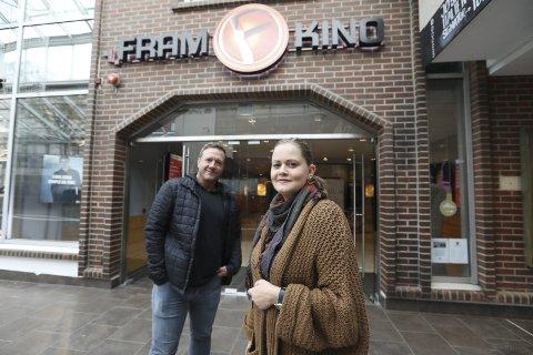 Gunnar Hagen og Cathrine Persson startet opp Bodø filmfestival i 2017. Nå har samarbeidet havarert og begge parter har engasjert advokat i den betente konflikten. Foto: Helge Grønmo