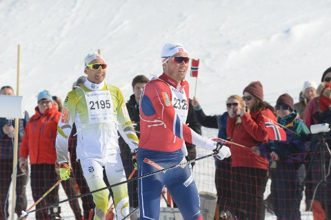 Niklas Dyrhaug er allerede klar for neste års utgave av Kobberløpet. Foto: Stian Høgland