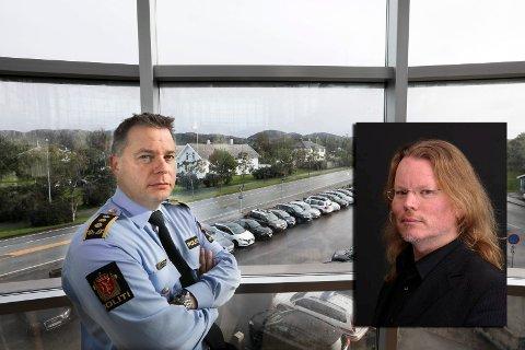 BORTE: Arjen Kamphuis er sporløst forsvunnet. At bagasjen heller ikke er funnet, forundrer også politiinspektør Bjarte Walla.