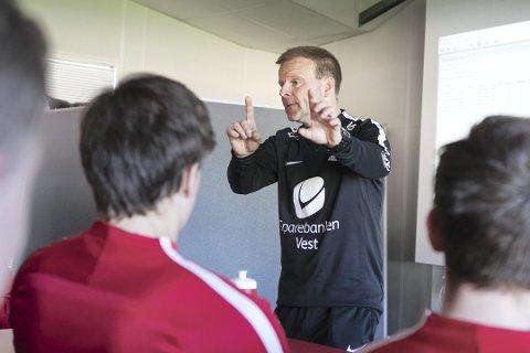 Morten Kalvenes blir etter det Avisa Nordland forstår presentert som ny mann i Glimts trenerteam for 2019-sesongen. Foto: BA