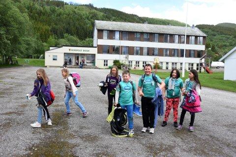 Foreslått nedlagt: Skolen i Nordfold.