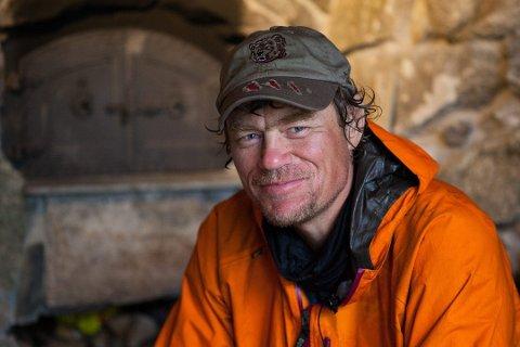 Lars Monsen vil ha snøscooterkjøring i nasjonalparken på Saltfjellet.