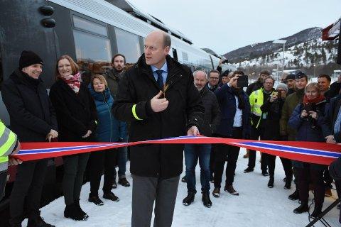 Den nye stasjonen ble formelt åpnet torsdag.