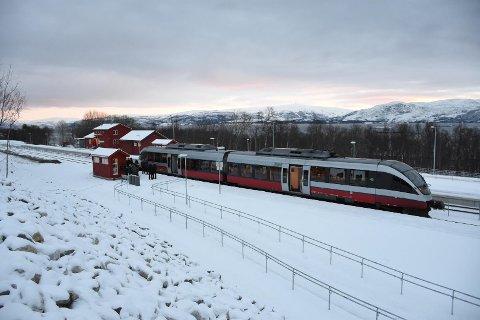 Det nye togstoppet på Oteråga.