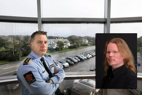 BORTE: Arjen Kamphuis er sporløst forsvunnet. At bagasjen heller ikke er funnet, forundrer også politiinspektør Bjarte Walla. Foto: Tom Melby