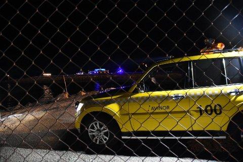 De to omkomne ble funnet i havet utenfor Helle lufthavn. Foto: Bjørnar Larsen