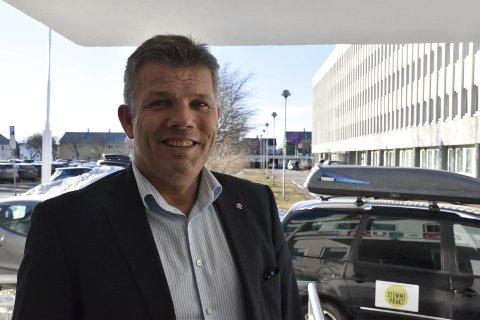 Optimist: Leder i Nordland Ap, Bjørnar Skjæran, var forberedt på nedgang etter partiets valgresultat i høst. Nå er han optimist etter flere nasjonale målinger med forsiktig framgang for partiet. foto: Cathrine Skogheim