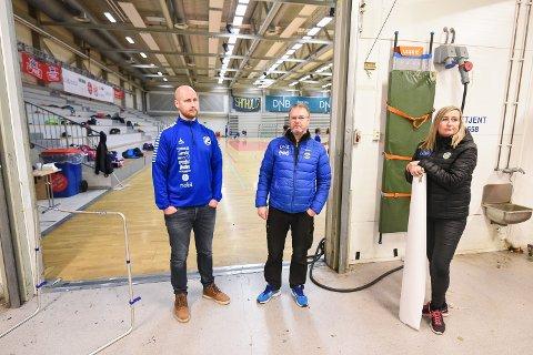 Gratis hall-leie: Bodø håndballklubb og idrettsklubben Junkeren drømmer om gratis, eller reduserte hallpriser for barneidretten i Bodø.