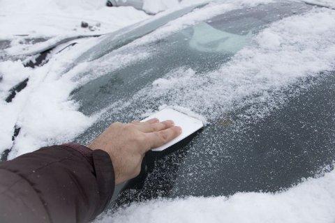 Å skrape is er viktig for å unngå ulykker, og for å få beholde førerkortet.