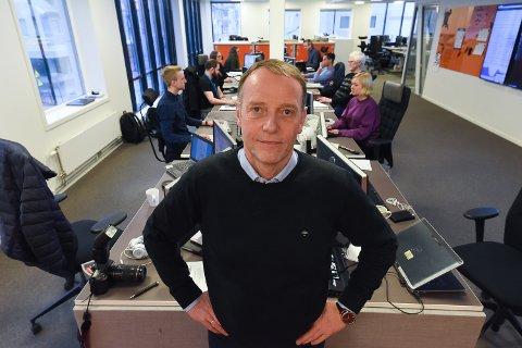Sjefredaktør Jan Eirik Hanssen.