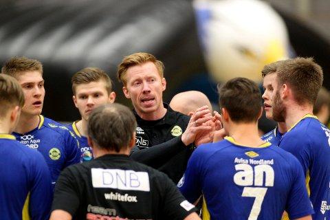 Børge Lund og BHK har flere nøkkelkamper på hjemmebane som kan sikre sluttspillplass.