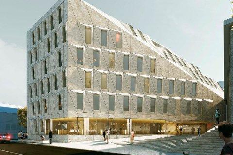 De i gjennomsnitt 20 kvadratmeter store kontorene til politikerne er ifølge Venstre, KrF, Høyre og FrP råflotte og unødvendige.