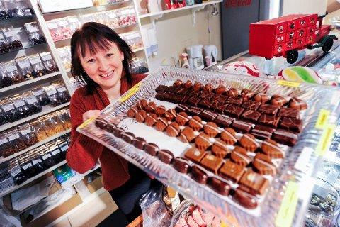 Monica Tønnessen håper på et rekordår for Monicas Godteributikk i 2018.