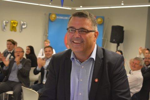Kjell-Børge Freiberg. Her fra valgvaken i Stormen i 2017.