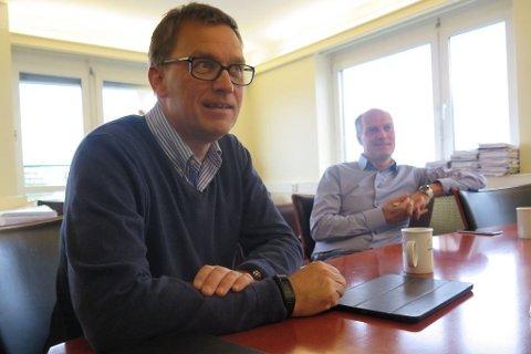 Kristian Adolfsen og Roger Adolfsen har samarbeidet med Roy B. Nilssen i en årrekke.