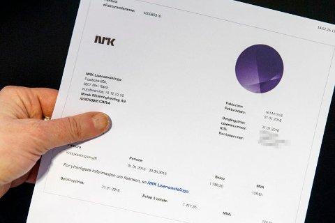 I 2018 vil norske husholdninger totalt betale inn cirka 6,04 milliarder kroner i NRK-lisens, melder Dagens Næringsliv.