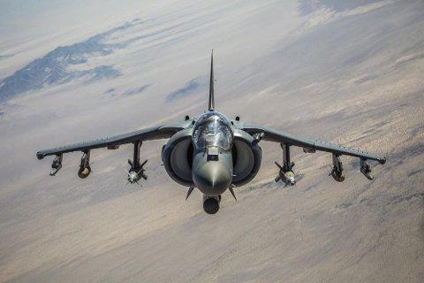 AV-8B Harrier II kommer til Bodø.