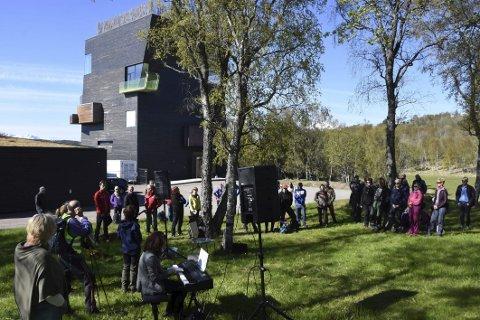Klar: Hamsunsenteret er klar for ny sommersesong.