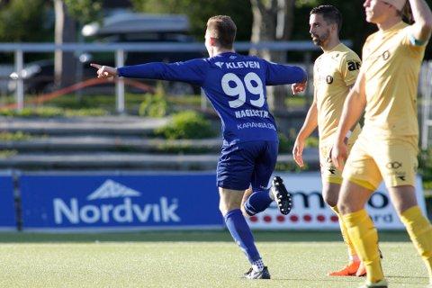 Bodø  20180613. NM fotball herrer 2018: Bodø/Glimt-Hødd på Aspmyra stadion onsdag kveld. Foto: Mats Torbergsen / NTB scanpix