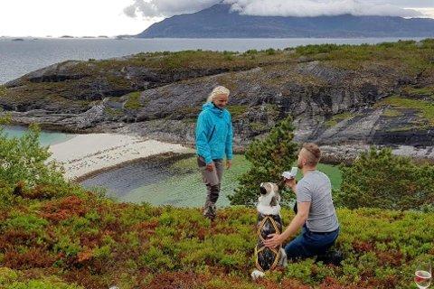 Susanne Andersen (23) ble rørt til tårer over det spektakulære frieriet fra kjæresten Aslak Skorpen (24).