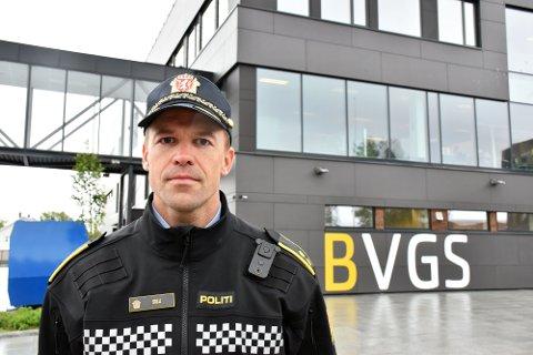 Narkotikakriminalitet: Gjennom informasjonsinnhenting har politiet avdekket at minst 60 navngitte elever kan ha vært involvert i den narkotikarelaterte kriminaliteten ved Bodø videregående skole. Kriminalsjef Knut Waldemar Solli sier politiet tar utviklingen av ungdomskriminalitet på største alvor.