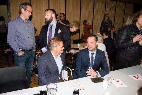 Danny Hayes under Innovasjon Norges arrangement i Bodø 7. juni.