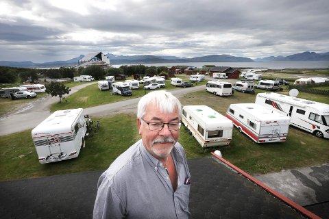 Jan Helgesen har drevet Bodøsjøen Camping denne sommeren.