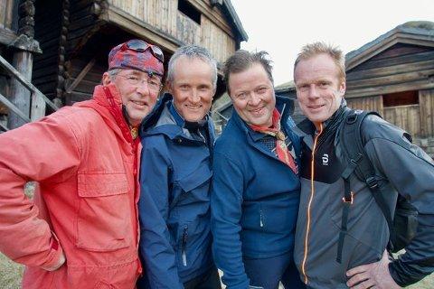Arne Brimi, Vegard Ulvang, Arne Hjeltnes og Bjørn Dæhlie er tilbake på skjermen igjen.
