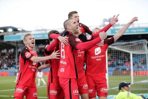 Serielederne flyr høyt om dagen. Nå ønsker de å samle publikum hjemme i Bergen, mens de røde spiller kamp i Bodø. Målet er å slå publikumstallet på Aspmyra.