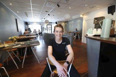 Kom Heim: Driver og eier Kathrine Vassbotn startet en innsamlingsaksjon for å finansiere en ny espressomaskin.